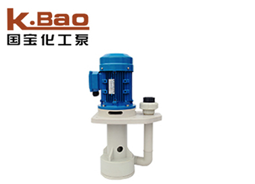 Acid and alkali resistant tank pump