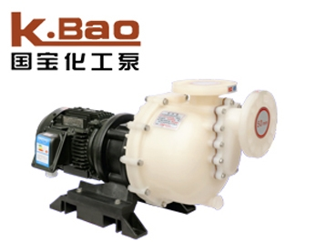 PVDF self-priming pump