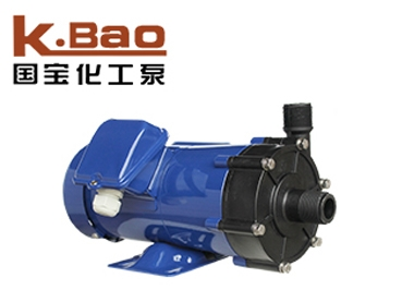Acid and alkali resistant magnetic pump
